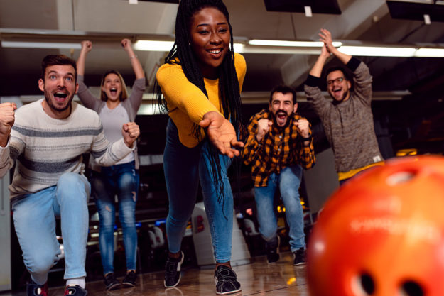 people bowling is an example of substance abuse group therapy activities
